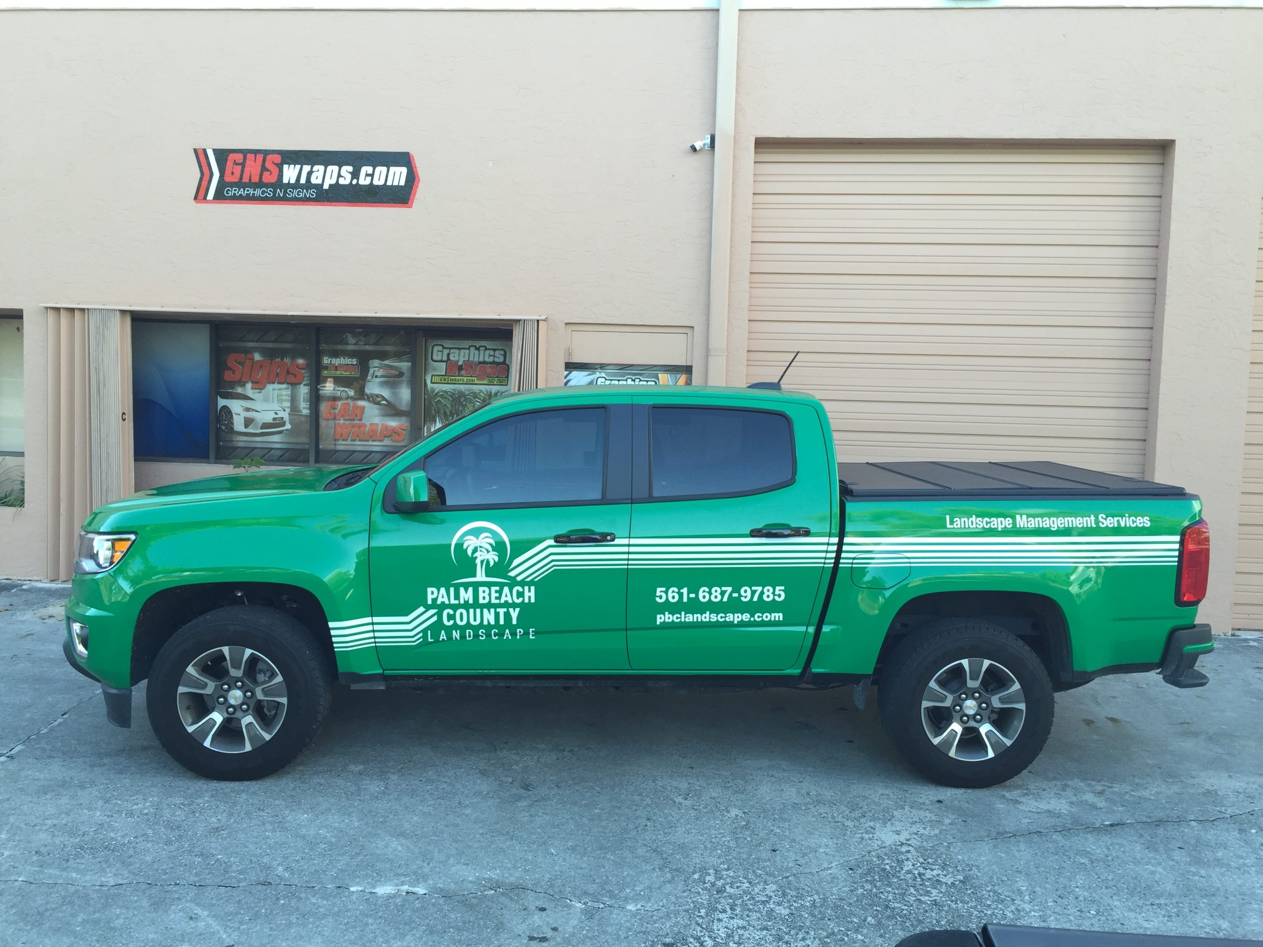 GNS WRAPS CAN WRAP YOUR TRUCK!