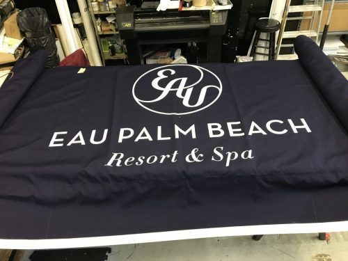 Hotel Banner | Hospitality signage South Florida | GNS Wraps