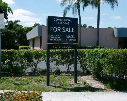 For Sale Sign Design | Outdoor Signs South Florida | GNS Wraps