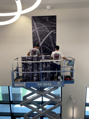 Banner Installation South Florida | GNS Wraps
