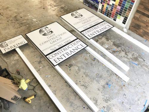 Construction Sign Design | GNS Wraps