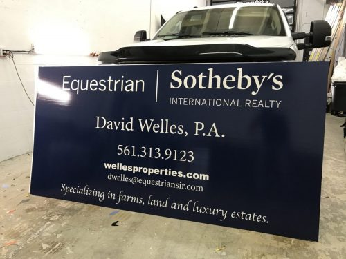 Professional Signs | Outdoor Signs | Real Estate Signs | GNS Wraps